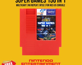 150 in 1 NES Nintendo No Repeat
