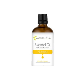 Nutmeg Essential Oil 100% Pure 10ml 50ml 100ml