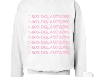1-800-DOLANTWINS Crewneck