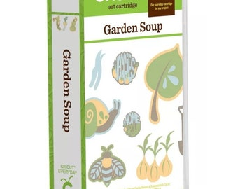 Cricut Garden Soup Cartridge...LOOK!!! SALE!! Limited time