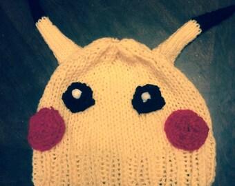 Pikachu Character Hat