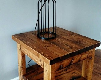 end table, nightstand, wood furniture, side table, home and living, living room, storage, solid wood table