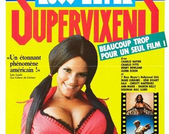 SUPERVIXENS Movie POSTER Expliotation Russ Meyer