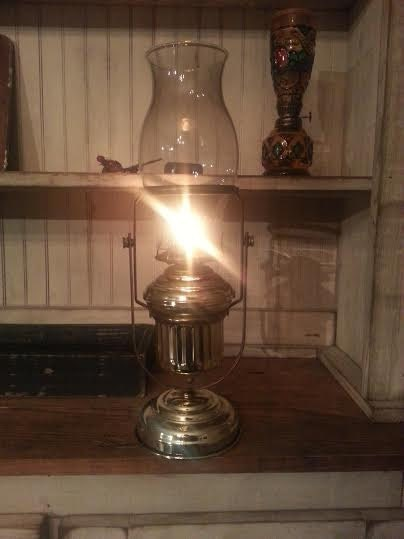 Wall Hung Oil Lamps : Vintage Oil Lamp Brass Oil Lamp Wall Mounted Oil Lamp