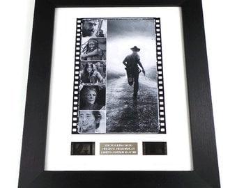 Walking Dead Film Cells Movie Memorabilia in Picture Frame
