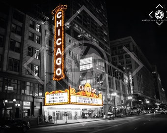 The Chicago Theatre, Downtown Chicago