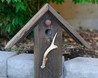 Antler Birdhouse