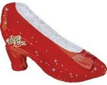 Ruby Red Slippers Balloon, Wizard of Oz Theme, Red Slippers Balloon, Ruby Red Slippers, Wizard of Oz, Wizard of Oz Theme Party, 29 inch