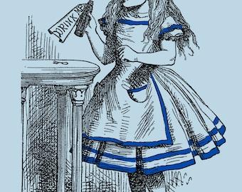 Alice in Wonderland - Vintage designs