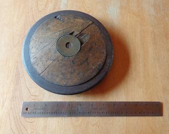 Vintage Gresviv wooden discus