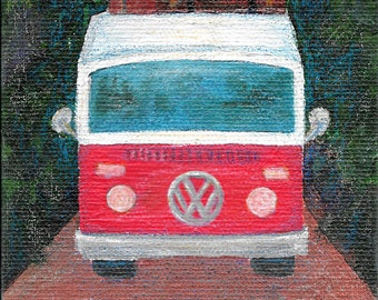 Art Print - Mixed Media - VW