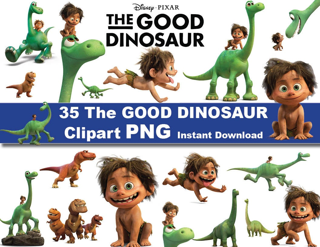 good dinosaur instant dl 35x the good dinosaur clipart png printable digital clipart graphic instant