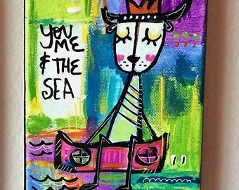 Painting: You, Me and The Sea - 1
