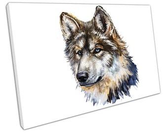 Wilk Głowa WOLF Canvas WALL ART C2115