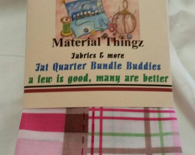 Little Girl's John Deere Pink Fat Quarter Bundle Buddies Baby Quilt Fabric