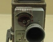 Vintage Bell  Howell Cine Camera with Leather Case
