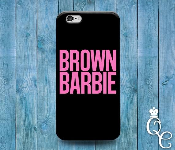 iPhone 4 4s 5 5s 5c SE 6 6s 7 plus iPod Touch 4th 5th 6th Gen Cool Brown Black Pink Girly Girl Blonde Brunette Hair Cute Funny Phone Case