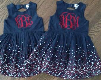 Toddler's Patriotic Dress (Multiple Sizes)