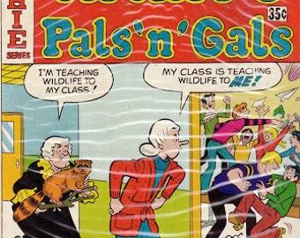 75% SALE 1977 Archie Comic Book..Archie Comics..Vintage Comic Book..70's Comic Book..Archie's Pals 'N' Gals #114..Near-Mint Condition