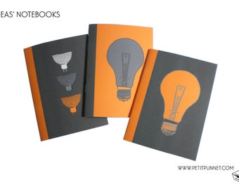 Set of 3 Pocket Notebooks: 'Ideas' Notebooks