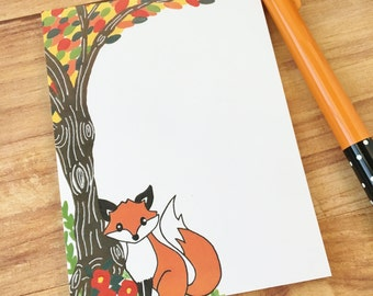Fox notepad sale