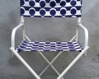 Summer Chair with Funky Fabric '60