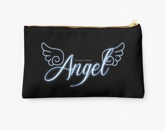 Carry-All Pouch, Angel with Wings, 2 Sizes Available!