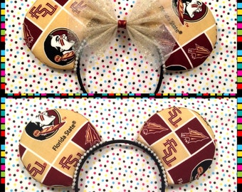 Florida State University Seminoles Mouse Ears