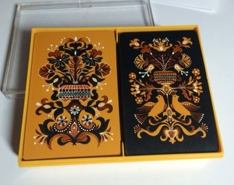 "Vintage Hallmark Double Deck Playing Cards ""Espaňol"", card game"
