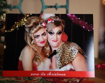 Tracy & Martina signed Christmas Card