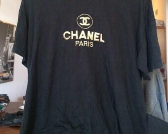Vintage Chanel logo shirt