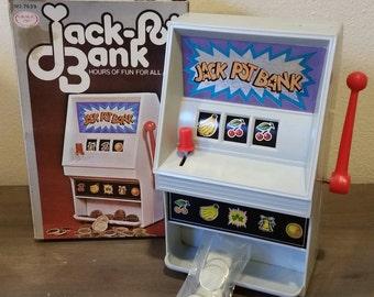 Vintage Jack Pot Bank 70's