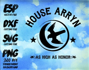 game of thrones House Arryn Clipart , SVG Cutting , ESP Vectors files , T shirt , iron on , sticker ,Personal Use