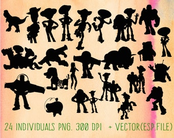 Toy Story clipart, Clip Art,T shirt, iron on, sticker, Vectors files ,Personal Use
