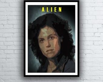 Alien Poster / Ripley Poster