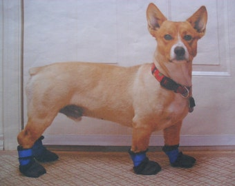 Dog Boots Heavyweight New & Extreme Waterproof (4 boots ) paw protectors washable