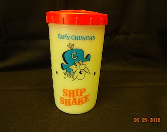 Cap'n Crunch's Ship Shake cup