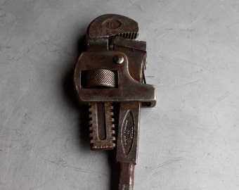 Vintage Heavy Steel Wrench