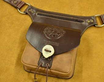 Bag of hip with belt
