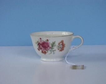 Gardenia teacup candle