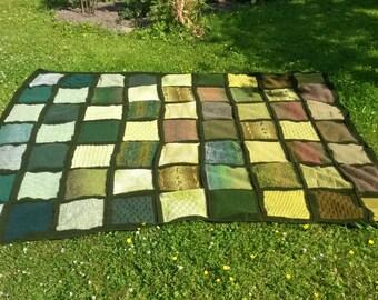 Wool blanket, knitted wool blanket,Arm knit blanket, Giant knit Throw, Wedding gift