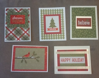 Christmas Set #1 (5 cards per set)