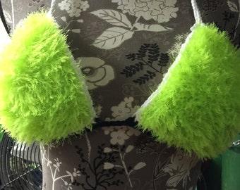 Fuzzy Bikini Top
