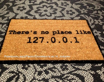 Free Australia wide postage, Personalized custom made, Funny, Coir Front Doormat, Perfect House warming, Wedding gift
