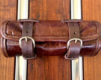 Leather Motorcycle Tool Roll, #16-801