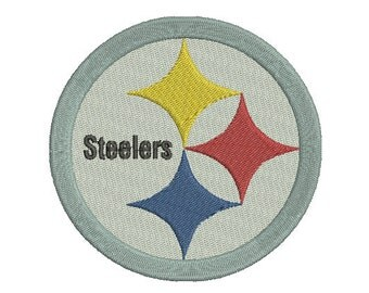 Pittsburgh Steelers Embroidery Design, Football Team Logo Machine Embroidery Design, instant download machine embroidery pattern - 4 sizes