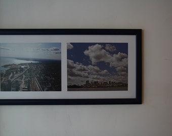 31 x 63cm Blue frame