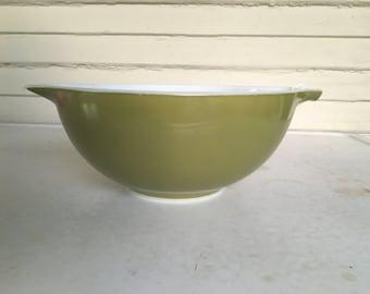 Pyrex Verde Cinderella 443 Bowl Vintage