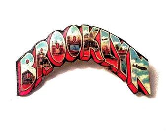 BROOKLYN Pin