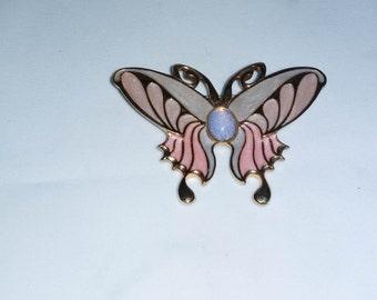 Opalesence Enameled Butterfly